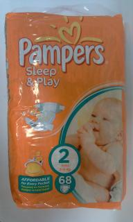 Pampers Sleep&Play 2mini3-6kg 68ks